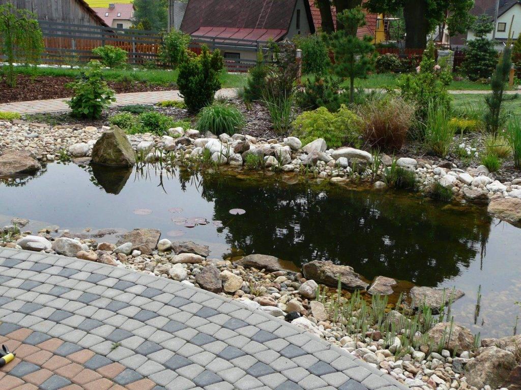 Okrasné jezírko | Zahrady Laurus